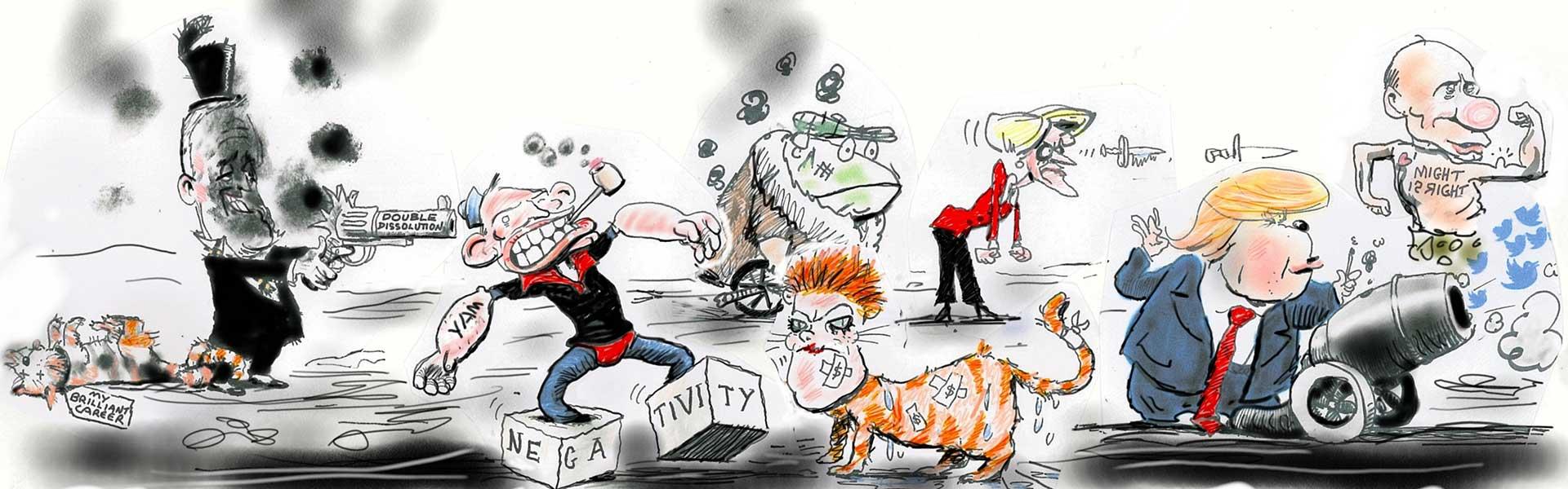 Moir Funny Politcal Cartoons Australia