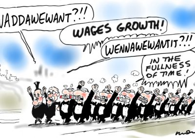 Turnbull waddawewant wages